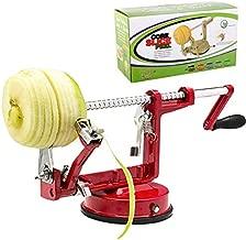 MingTao Apple/Potato/pear Peeler Corer, Durable Heavy Duty Die Cast Magnesium Alloy Multifunction Peelers