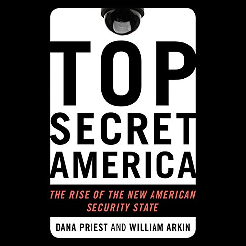 Top Secret America audiobook cover art
