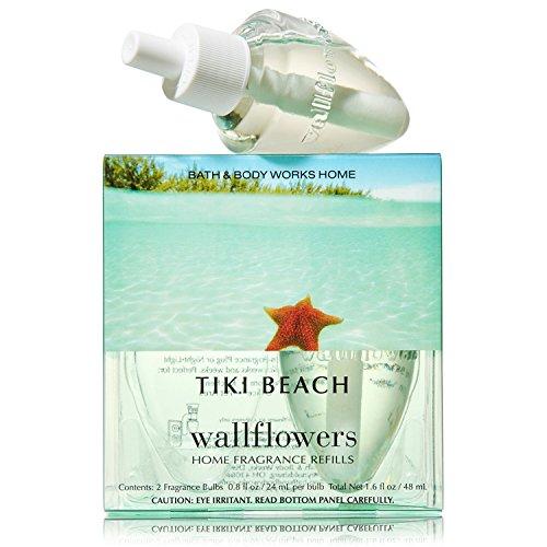 Bath & Body Works Wallflowers Home Fragrance Refill Bulbs 2 Pack Tiki Beach