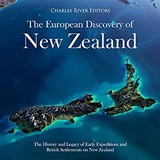 The European Discovery of New Zealand audiobook cover art