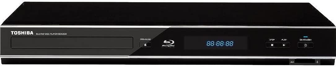 Toshiba BDX2500 Blu-ray Disc Player (Black)