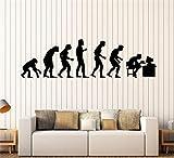 stickers muraux prenom personnalisé Geek Evolution Mural Jeu Vidéo