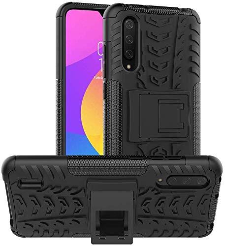 Lapinette Funda Compatible con Xiaomi Mi 9 Lite Antigolpes - Carcasa Mi 9 Lite Protección Antigolpes - Funda Xiaomi Mi 9 Lite Antigolpes Rígida Modelo Spider Negro