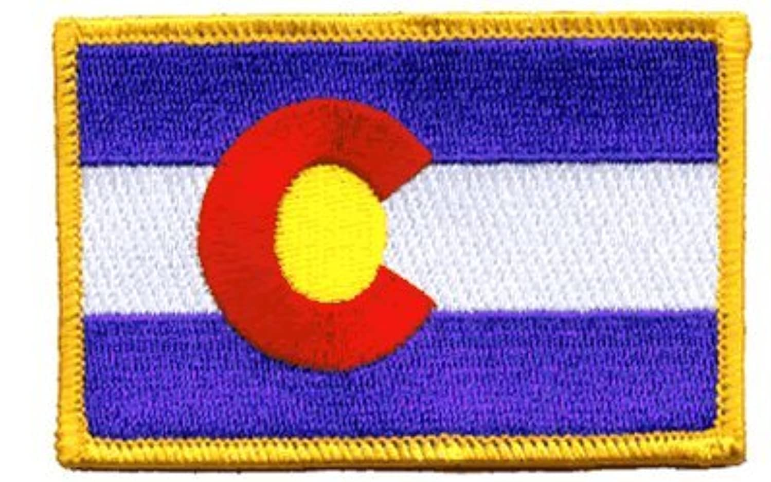 Colorado iron-on embroidered patch
