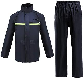 Snow Rainwear Waterproof Jackets Reflective Raincoat Road Traffic Warning Outdoor Raincoat Trousers Suit Men And Women Mul...