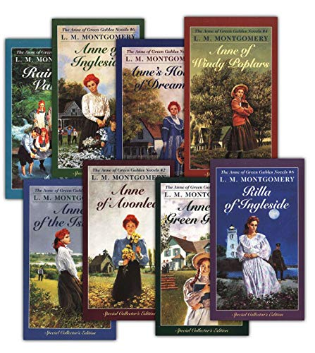 Anne Shirley Complete 8-Book Series : Anne of Green Gables; Anne of the Island; Anne of Avonlea; Anne of Windy Poplar; Anne