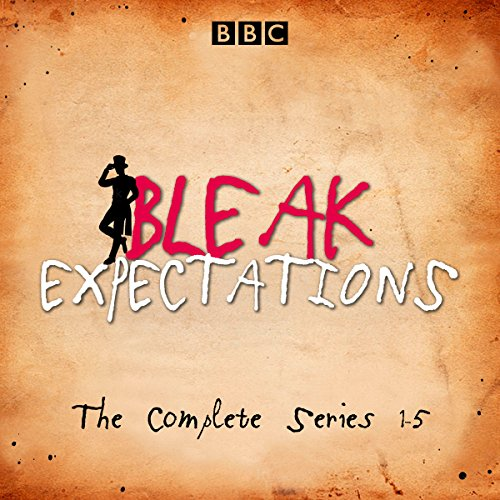 Bleak Expectations     The Complete BBC Radio 4 Series              By:                                                                                                                                 Mark Evans                               Narrated by:                                                                                                                                 Anthony Head,                                                                                        Celia Imrie,                                                                                        David Mitchell,                   and others                 Length: 14 hrs and 33 mins     184 ratings     Overall 4.7