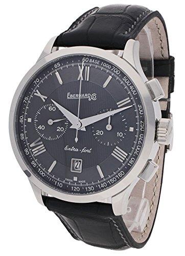 Eberhard & Co herenpolshorloge extra fort grande taille datum chronograaf analoog 31953.6 CP
