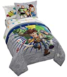 Jay Franco Disney Pixar Bed Set, Twin, Toy Story 4
