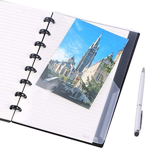 Eagle Discbound Pocket Divider, Plastic, 2-Pocket, Junior Size, for Discbound Planner or Notebooks, Pack of 2