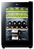 Vinoteca - Teka RV 250B, 25 botellas, Iluminación LED, 5 estantes, 90W, Negro