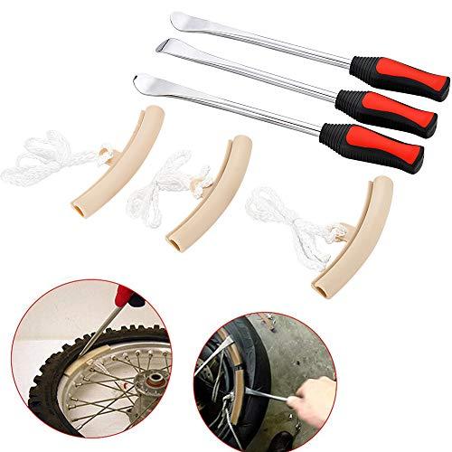 EXLECO Desmontables Neumáticos Kit 3 Pcs Kit de Cambio de Neumáticos de...