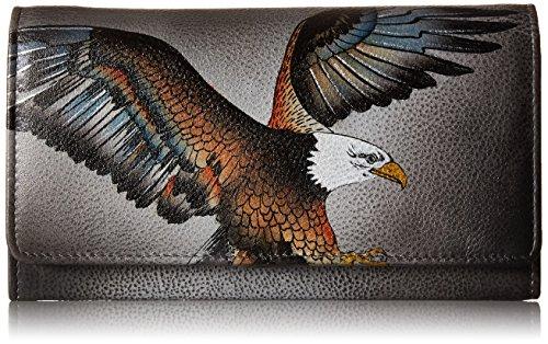 Anuschka Damen Geldbörse, AME-amerikanischer Adler, Einheitsgröße