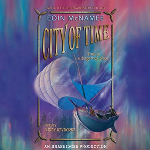 City of Time audiobook cover art
