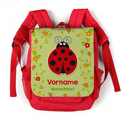 Striefchen® Marienkäfer Kinderrucksack mit Namen des Kindes und Kita Gruppe