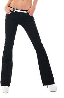 359537cb44fad Amazon.fr : Noir Triple XXX - Jeans / Femme : Vêtements