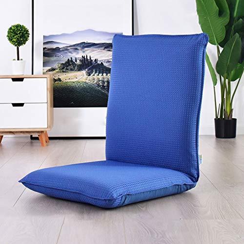 Sofa Stoel, Folding Lounge Chair Portable Orange 6 standen verstelbare Leisure stoel tapijt for Balkon, 110x50CM 417 (Color : B)