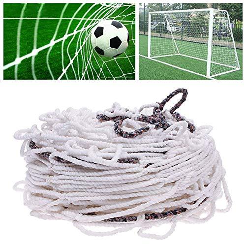 Umisu - Red de fútbol para portería de fútbol, red de repuesto, 3 x 2 metros, accesorio de deporte para entrenamiento de fútbol