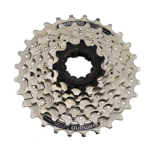AOKUO 7 Velocidad CS-HG41-7 ÍNDICE 11-28T MTB Accesorios de Bicicleta Sprocket, Tornillo de Bloque de Rueda Libre en Cassette Cog