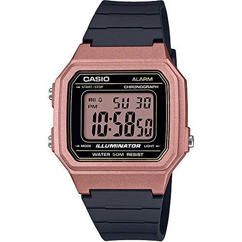 Casio Reloj Digital para Hombre de Cuarzo con Correa en Resina W-217HM-5AVEF