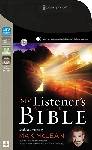 Compare Textbook Prices for NIV, Listener's Audio Bible, Audio CD: Vocal Performance by Max McLean Unabridged Edition ISBN 9780310444343 by Zondervan,McLean, Max