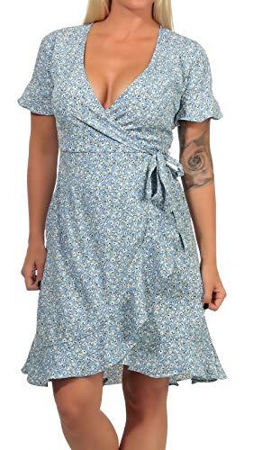 ONLY Female Kleid Wickel 42Dusk Blue
