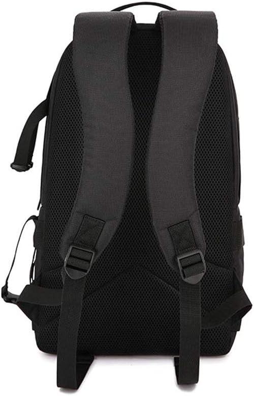 MDYYD Camera Backpack Camera Bag Outdoor Anti-Theft Waterproof Digital Photography Bag Fashion Backpack Travel Hiking Camera Bag Color : Orange, Size : 30x22x45cm