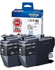 【brother純正】インクカートリッジブラック2個パック LC3111BK-2PK 対応型番:DCP-J982N、DCP-J978N、DCP-J582N、DCP-J577N、MFC-J738DN 他