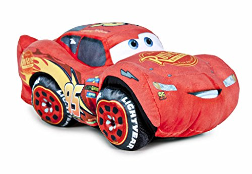 Famosa Softies - Cars 3 - Peluche Rayo McQueen, 17 cm (Famosa 760014880)