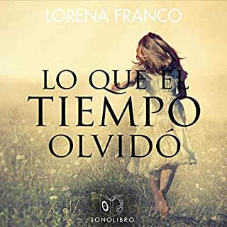 Lo que el tiempo olvidó [What Time Forgot] audiobook cover art