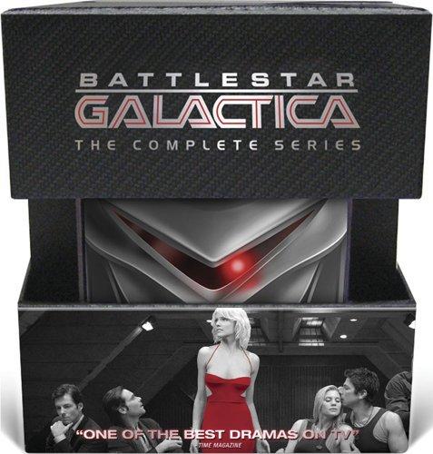 Battlestar Galactica: The Complete 2004 Series (+ Collectible Cylon)