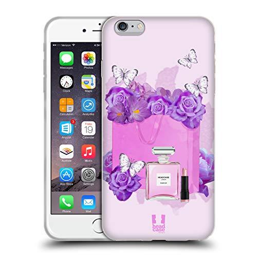Head Case Designs Bolso Colección Vanity Carcasa de Gel de Silicona Compatible con Apple iPhone 6 Plus/iPhone 6s Plus