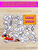 Dinosaurs Activity For Kids: Activity Coloring Books 50 Coloring Stygimoloch, Kentrosaurus, Velociraptor, Velociraptor, Allosaurus, Ankylosaurus, Velociraptor, Pterodactyl For Baby Image Quiz Words