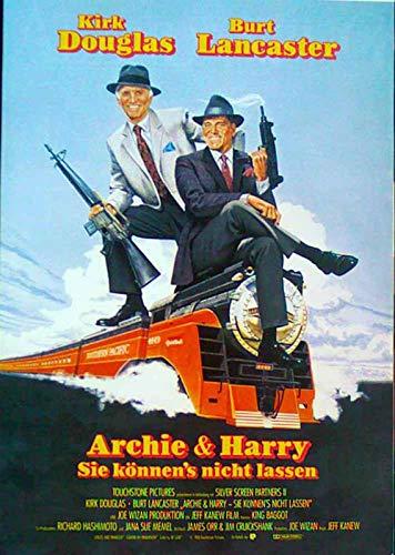 Archie und Harry - Sie können?s nicht lassen - Filmposter A3 29x42cm gerollt