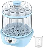 Baby Bottle Sterili-zer and Dryer, Elechomes Electric Steam Sterili-zer, Super Large Capacity 600W Fast Bottle Warmer with LED Display, Auto Shut Off, BPA-Free