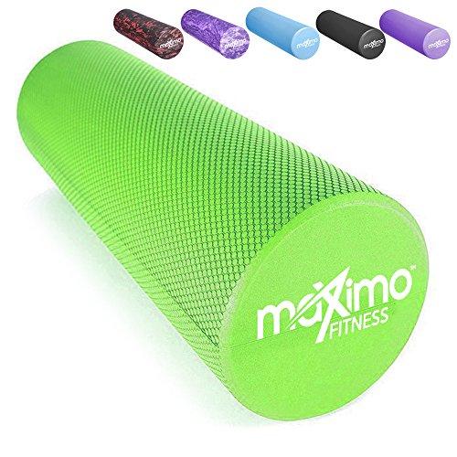 Maximo Fitness Faszienrolle, leichte und extra Lange Schaumstoffrolle, 45 cm x 15 cm (18