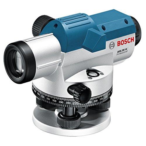 Bosch Professional GOL 26 G Optisches Nivelliergerät, Gon Maßeinheit, Transportkoffer