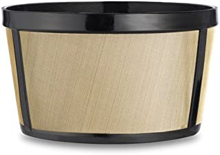 CAFÉ BREW COLLECTION BF111 4C Gold Perm Coff filter, Golden Stainless Steel
