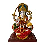 Item Dimensions: Length: 5, Width: 3, Height: 6 inches Is Fragile: Yes, Included Component: 1 Santoshi Mata Statue It is easily cleanable by Dry Cotton Cloth . Special Features: Detailed hand work and have beautiful hand work of skilled Indian artist