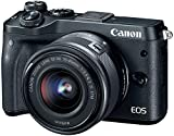 Canon EOS M6 (Black) EF-M 15-45mm f/3.5-6.3 is STM Lens Kit (Renewed)