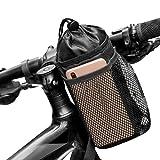 Seacool Fahrrad MTB Flaschenhalter, lsoliert Fahrradtasche mit Flaschenhalter, Fahrrad Getränkehalter Trinkflaschenhalter Becherhalter Getränkehalter, wasserdicht dauerhaftigkeit Wasserflaschen Tasche