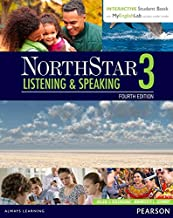 NorthStar Listening and Speaking 3 with Interactive Student Book access code and MyEnglishLab (Northstar Listening & Speak...