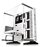 Thermaltake Core P3 SE Snow Edition ATX Open Frame Panoramic Viewing Tt LCS Certified Gaming Computer Case CA-1G4-00M6WN-02