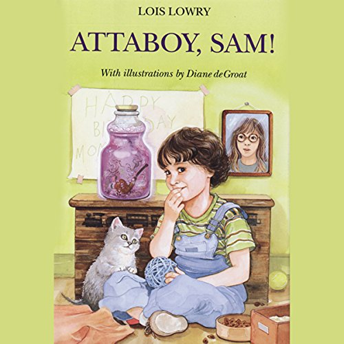 Attaboy Sam audiobook cover art