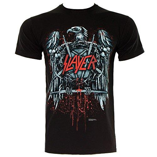 Slayer - Aigle Noir T-shirt en noir, Medium, Black