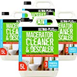 Ultima-Plus XP Toilet <span class='highlight'>Macerator</span> Cleaner and Descaler - Deeply Cleans Toilet <span class='highlight'>Macerator</span>s and Removes Limescale - Compatible with All Saniflo <span class='highlight'>Pump</span> Units, Toilets & Urinals (20 litres)