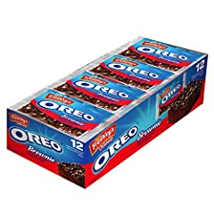 Perfect Combination on Mrs. Freshley's and Oreo Individually Packaged Brownies - Perfect for Anytime Snacking Contains Eight Full Size Oreo Brownies Retail Ready Pack Made with Real Oreo Cookie Pieces