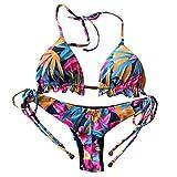 Love Letters Bikini Donna Push Up Due Pezzi Costume da Bagno con Alta Vita Design Stampa Costumi da Bagno Donna Bikini Brasiliana Mini Bikini Sexy Swimwear