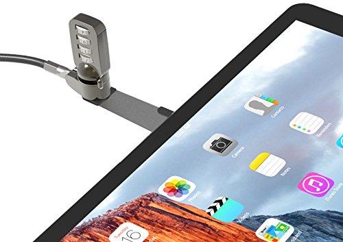 Maclocks Blade Cable Lock Staffa Universale con Lama Blocca Cavo di Sicurezza, Argento