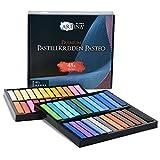 Artina Set de tizas Pastel Pasteo Master Series Soft Pastell - Colores Pasteles de Estudio - Set de 48 Colores con Caja